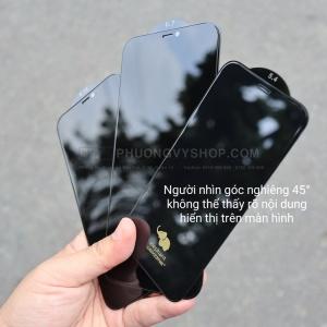 """Dán cường lực iPhone 12 Pro 6.1"""" - KINGKONG chống nhìn trộm"""